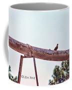Hdr Dove On A Pipe Coffee Mug