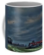 Hdr Print Red Tattered Barn Coffee Mug