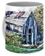 Hdr Tin Patch Roof Barn Coffee Mug
