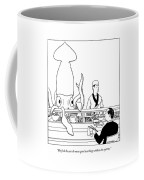He Feels He Can Do More Good Working Coffee Mug