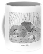 He Hums In His Sleep Coffee Mug