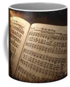 He Set Me Free - Hymnal Song Coffee Mug