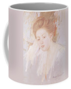 Head Of A Young Girl Pastel On Paper Coffee Mug