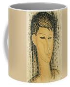 Head Of A Young Women Coffee Mug