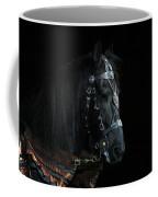 Head Of An Equine Warrior Coffee Mug