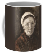 Head Of An Old Woman In A Scheveninger Coffee Mug