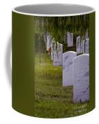 Headstones Of Arlington Cemetery Coffee Mug