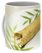 Healthy Burrito On A Plate Coffee Mug