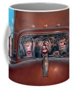 Hear No Evil See No Evil Speak No Evil Coffee Mug by Mark Fredrickson