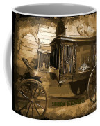 Hearse Poster Coffee Mug by Crystal Loppie
