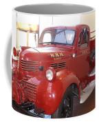 Hearst Fire Truck Coffee Mug
