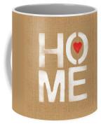 Heart And Home Coffee Mug by Linda Woods