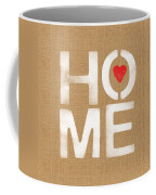 Heart And Home Coffee Mug