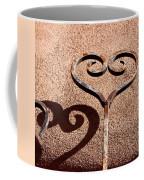Heart And Shadow Coffee Mug