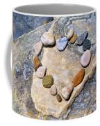 Heart And Stones  Coffee Mug