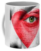 Heart Face Coffee Mug