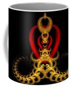Heart In Chains Coffee Mug by Sandy Keeton