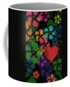 Heart In Flowers Coffee Mug
