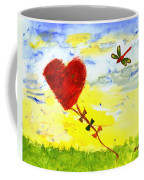 Heart Kite Coffee Mug