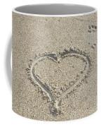 Heart Of Sand Coffee Mug