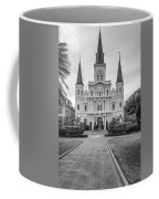Heart Of The French Quarter Monochrome Coffee Mug