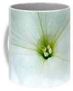 Heart Of The Petunia Coffee Mug