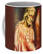 Heart Of The Savior Coffee Mug