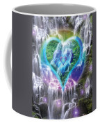 Heart Of Waterfalls Coffee Mug