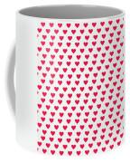 Heart Patterns Coffee Mug