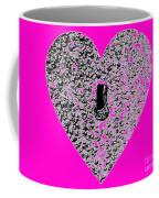 Heart Shaped Lock - Pink Coffee Mug