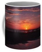 Heart Shaped Sunset In Brazil Coffee Mug