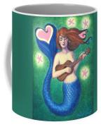 Heart Tail Mermaid Coffee Mug