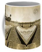 Heart Tracks Coffee Mug