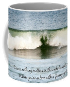 Heart Wave Seaside Nj Jersey Girl Quote Coffee Mug