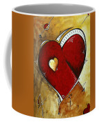Heartbeat By Madart Coffee Mug