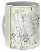 Hearts 13 Square Coffee Mug