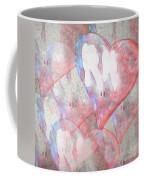 Hearts 15 Square Coffee Mug
