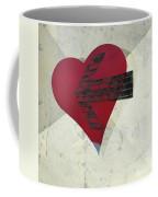 Hearts 7 Square Coffee Mug