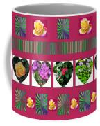 Hearts And Flowers 2 Coffee Mug