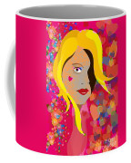 Hearts And Flowers Coffee Mug