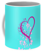 Hearts And Vines Coffee Mug