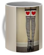 Hearts N Stripes Coffee Mug