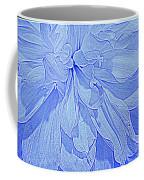 Heavenly Blue Dahlia Coffee Mug