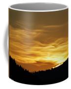 Heavenly Gold Sunset Coffee Mug