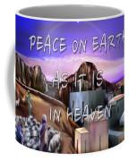 Heavenly Peace On Earth  Coffee Mug