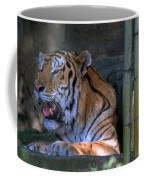Heavy Breathing Coffee Mug by Skip Willits
