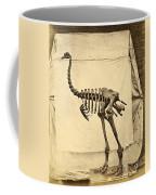 Heavy Footed Moa Skeleton Coffee Mug