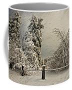 Heavy Laden Blizzard Coffee Mug by Lois Bryan