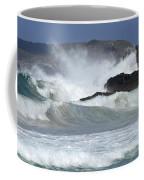 Heavy Surf Action Fernando De Noronha Brazil 1 Coffee Mug