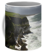 Heavy Surf On The Irish Coast Coffee Mug
